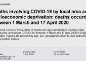 英国国家杏鑫代理注册统计局:英国穷人区新冠肺炎死亡人数是富人区两倍(附报告)
